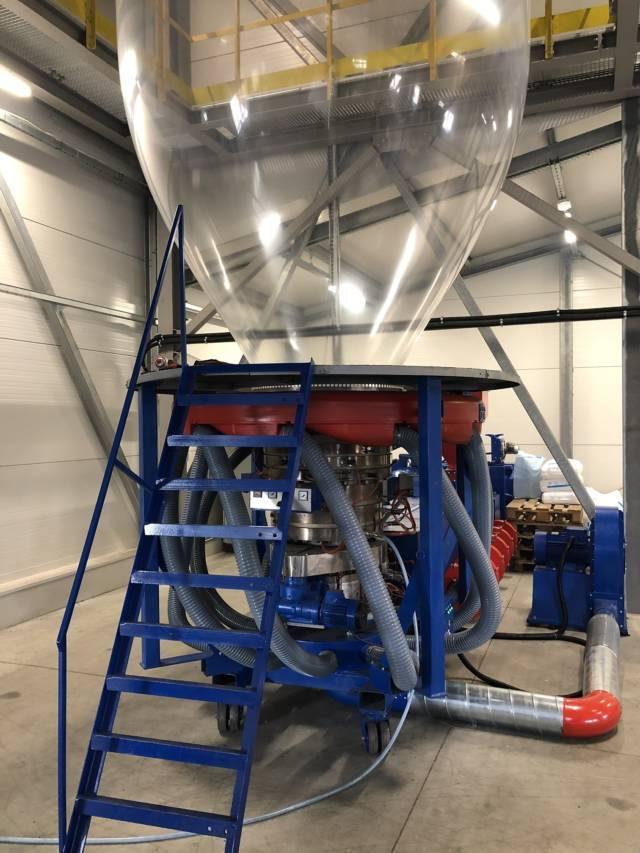 Maszyna produkująca Folię